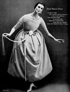 1957 - Christian Dior dress
