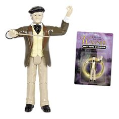 Richard Wagner action figure, I have this! I just wish I could remember where I put it.