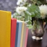 Upcycled Painted Book Decor by Sweet Deets Events - Photo by Adeline & Grace Photography