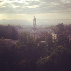 View from Oswald Tower 9-18-2014 │Old Main