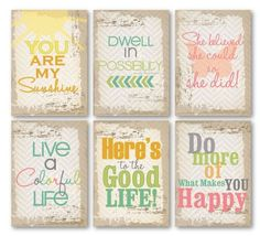 """Chic Tags """"On the Clock"""" Quote ATCs - $3.99 @ Blue Moon Scrapbooking"""