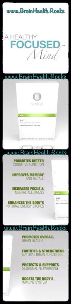 You deserve to have a focused mind.... and so do your friends and family. ⭐️ www.BrainHealth.Rocks
