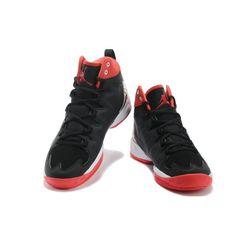 389fc9640cb59 Air Jordan Melo M10 Black White Red Jordans For Men