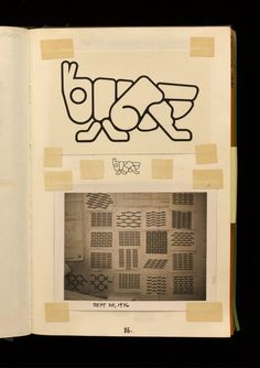 Lance Wyman: The Visual Diaries 1973—1982  Sketches, Notes, Photographs and Printed Ephemera  | Unit Editions | typetoken®
