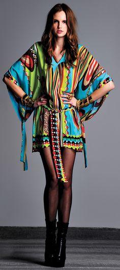 ALEXIS Kendal Kimono Sleeve Silk Dress♥✤ | Keep the Glamour | BeStayBeautiful