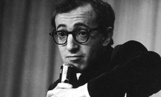 Yes it's Woody Allen and no I am not crazy I just really melt for a neurotic, intelligent, funny, and witty man. I like the character Woody Allen not necessarily the real man.