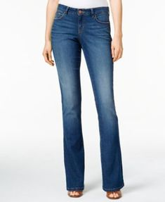 Style & Co. Curvy-Fit Bootcut Jeans, Created for Macy's | macys.com