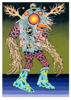 New Alex Pardee and Skinner Art Prints from Zerofriends - OMG Posters! Omg Posters, Alex Pardee, Dark Pop, Fantastic Art, Awesome, Amazing, Bird Tree, Psychedelic Art, New Art