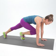 Love Your Sides: 5-Minute Muffin Top Workout, lol I'll do it just because of the name, I don't really have a muffin top, but for some reason that saying is so funny to me :)