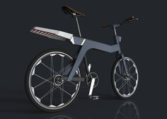 the bike concept by kasper schwartz is a danish design graduate's take on a new, flexible and intelligent type of everyday bicycle.