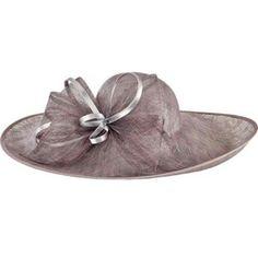 Women's San Diego Hat Company Asymmetrical Fascinator Sun Brim Hat DRS1015