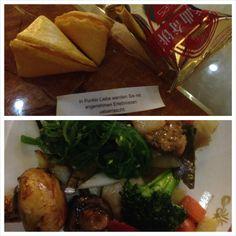 27.03.14 - mit lieben Menschen zusammen sein und gut essen macht glücklich! Der Glückskeks rundete den Abend ab <3