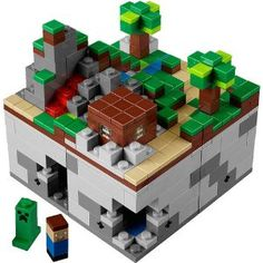 LEGO Cuusoo: Minecraft Micro World Set 21102: Amazon.co.uk: Toys & Games