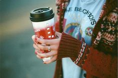coffee and cozy sweaters
