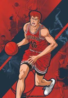 Slam Dunk Manga, Manga Anime, Otaku Anime, Michael Jordan Slam Dunk, My Hero Academia, Really Cool Wallpapers, Inoue Takehiko, Basketball Anime, Hunter Anime