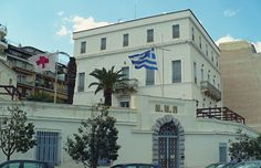 Nautical Hospital of Piraeus built in 1902 as the hospital of the Russian community. Attica Athens, Attica Greece, Athens Greece, Old Photos, Vintage Photos, Greece Travel, Day Trip, The Locals, Paths
