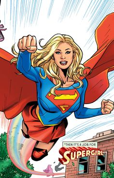 • Supergirl: Rebirth #1 (2016) pencil by Emanuela Lupacchino