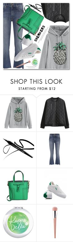 """""""Untitled #3579"""" by svijetlana ❤ liked on Polyvore featuring Mother, Tory Burch and Puma"""