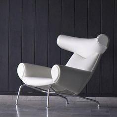 Ox Chair - Hans Wegner Ox Chair, Chair And Ottoman, Chair Cushions, Funky Chairs, Vintage Chairs, Home Furniture, Furniture Design, Chair Design, Danish Design Store