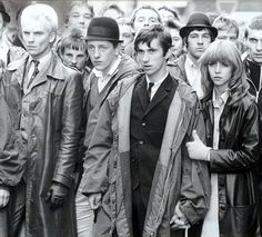 Quadrophenia, shot mainly on location in Brighton. Sting, far left.