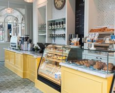 life with style : colette grand café my dream cafe кафе интерье Bakery Shop Design, Coffee Shop Design, Cafe Design, Design Design, Mein Café, Bakery Interior, Cupcake Shop Interior, Gelato Shop, Bakery Display