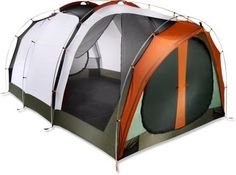 A campground palace! Make this tent your spacious, airy and bug-free paradise.