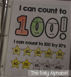 The Daily Alphabet: Data Notebooks in Kindergarten