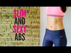Slim and Sexy Abs Workout - YouTube