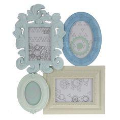 Κορνίζα Τοίχου Sweet Blue (4 θέσεων)  Τιμή: €10,60 http://www.lovedeco.gr/p.Korniza-Toichou-Sweet-Blue-4-theseon.839590.html