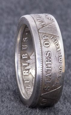 Ring for Jacob? 1921 90 Silver Morgan Dollar Double Sided Coin by NashvilleMint, $100.00