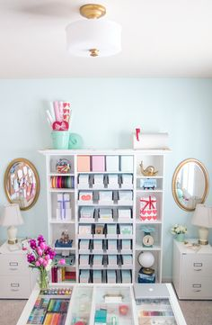 Gorgeous office design and organization ideas