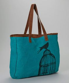 Love this graphic tote by Karma #zulilyfinds