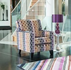 Alstons Camden Accent Chair from Queenstreet Carpets & Furnishings - Furniture stores in Exeter.