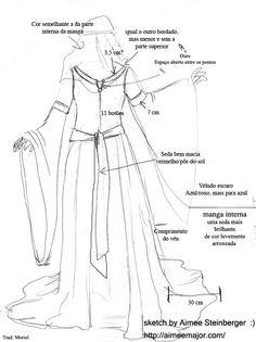 Elabore o seu figurino em casa, pesquise moldes de vestidos para costurar e saia por ai desfilando uma peça confeccionada por você. Saiba mais!