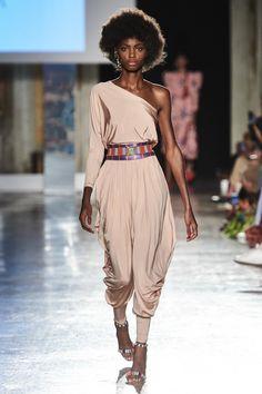 Stella Jean Spring 2020 Ready-to-Wear Fashion Show - Vogue Vogue Fashion, Fashion 2020, Runway Fashion, Girl Fashion, Womens Fashion, Fashion Spring, Fashion Addict, Fashion Trends, Stella Jean