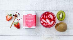 Strawberry Kiwi Fruit Tea #thisistea #harneyandsons