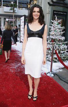 Rachel Weisz Cutout Dress - Rachel Weisz rocked a slinky dress with side cutouts…