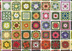 Granny Squares (1000 Piece Puzzle by Cobble Hill)