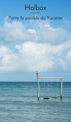 Holbox, une belle île mexicaine du Yucatán épargnée du tourisme de masse. #mexique #mexico #travel #voyage #yucatan #holboxisland #blogdevoyage #ileparadisiaque