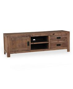Champagne TV Stand, Console - Media Storage Furniture - furniture - Macy's