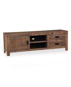 Champagne TV Stand, Console - Media Storage Furniture - furniture - Macy's