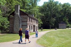 Pioneer Village in Springmill State Park! I used to work here and now it's on Pinterest! -Jae