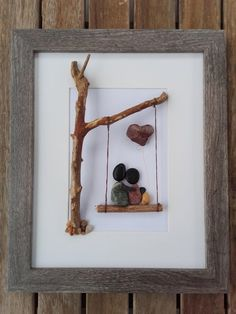 75 Frames With Stones Ideas In 2021 Pebble Art Rock Crafts Pebble Pictures