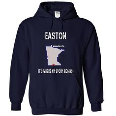 Easton, Minnesota It's Where My Story Begins T Shirts, Hoodies, Sweatshirts