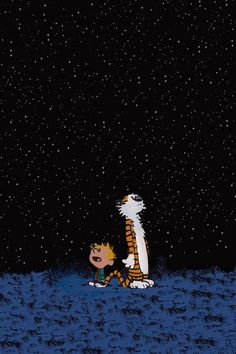 Calvin & Hobbes iphone wallpaper