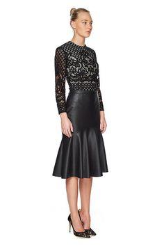 Virgo Midi Skirt by Lover - Maximillia eBoutique