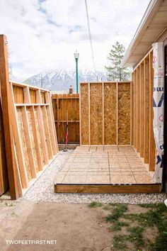 Build Shed Walls plus Floor Do you need more storage at your house? Maybe you need a shed. Here is how to build shed walls plus the floor. That way you can build your own shed! Related posts: How to build a wood shed
