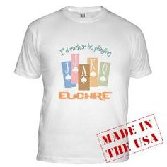 Retro Rather Play Euchre Fitted T-Shirt > Retro Rather Play Euchre T-Shirts & Gifts > Koncepts by Karyn