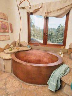 Luxurious Rustic Master Baths