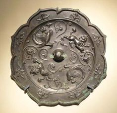 ce), Chinese dynasty that succeeded the short-lived Sui dynasty developed a successful form of government and administration on the Sui model, and stimulated. Mandarin Pinyin, Chinese Mythology, Bronze Mirror, Asian Games, Ancient China, Chinese Antiques, Ancient Civilizations, Yin Yang, Chinese Art